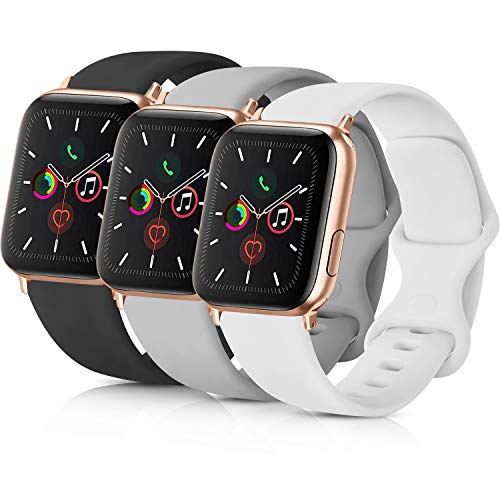 Pack 3 Compatible with Apple Watch Band 38mm 40mm 42mm 44mm Women...