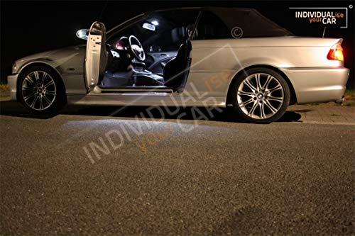Innenraumbeleuchtung SET für 3er E46 Cabrio (Cool-White)