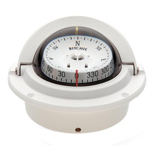 "Compass, Flush Mount, 3"" Combi, White"