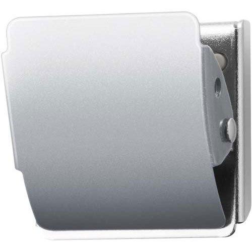 プラス マグネットクリップ CP-040MCR M シルバー (80414) 80414 マグネット式クリップ