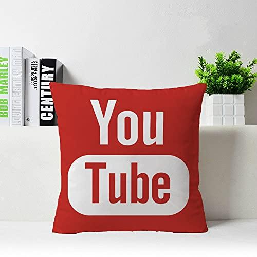 OUDE Caliente Elling Medios ocial Youtube con Cierre de Cremallera Banda Almohada Almohada jamón Protor Populares Cae