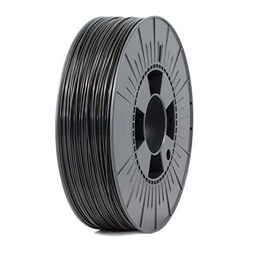 PLA+ Filamento para impresora 3D 1.75mm, 825gr Bobina, (Negro)