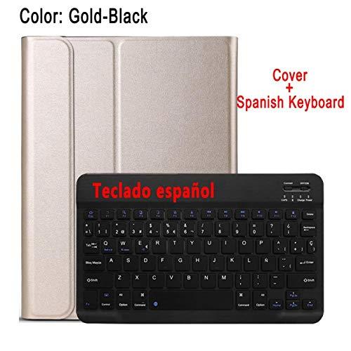 Tastaturhülle für Apple iPad 2/3/4 iPad2 iPad 3 iPad 4 9.7 A1395 A1396 A1403 A1416 A1430 A1458 A1460 Tastaturabdeckung-Spanische Tastatur