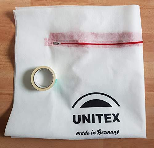 Unitex Staubschutztür! Made in Germany! Unitex! Bautür,Durchgang! 220x110 **100% PPVlies**