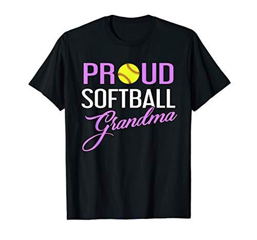 Proud Softball Grandma T-Shirt