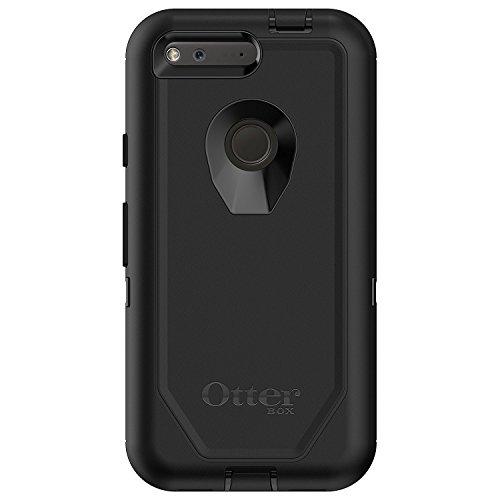 OtterBox Defender Sturzsichere Schutzhülle, (geeignet für Google Pixel, 12,7 cm 5 Zoll)) schwarz