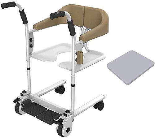 FF Deluxe toiletveiligheidsframes in hoogte verstelbaar en handig Lichtgewicht rolstoel voor gebruik in gezinsziekenhuizen voor mensen met beperkte mobiliteit
