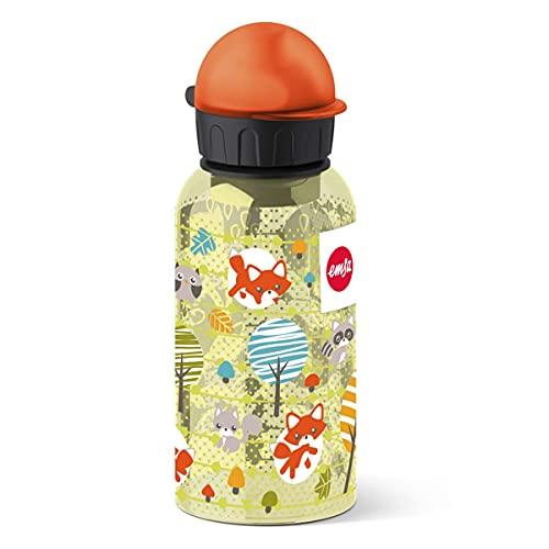 Emsa 518124 Kids Tritan Bottiglia, Tappo-Beccuccio, Decorazione Fox, Multicolore, 7 x 7 x 18 cm