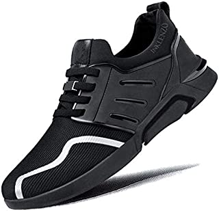 Inklenzo Men's Casual Shoes in White Color Walking Running Gymwear Sports Sneakers for Daily use