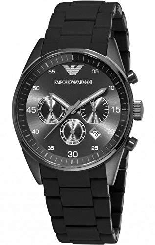 uniqui shop nieuwe Emporio Armani mannen AR5889 Sport zwart horloge met doos