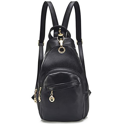 BAG WIZARD womens Sling Backpack Sling Backpack Black Size: S