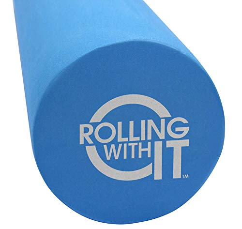 36 Inch Length x 6 Inch Round - The Foam Roller - Best Firm High Density...