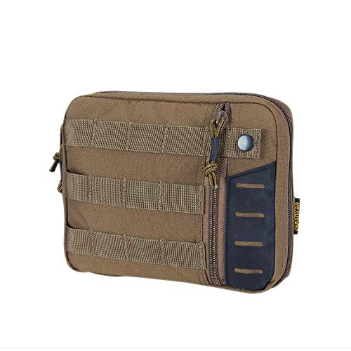 EXCELLENT ELITE SPANKER EDC Pouch Tactical Admin Pouch Molle Utility Organizer Pocket Tool Bag(Verde Oliva)