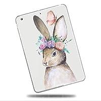 Sepikey iPad Air 2/iPad Air カバー,落下に強い アンチダスト 耐衝撃 ソフトシリコンTPU キズ防止 スリム ハード クリア スリム ハード 背面シェルケース iPad Air 2/iPad Air Case-動物16