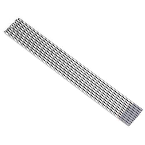 Electrodo de electrodo de soldadura de cerio WC20, para soldadora DC TIG(2.4 * 150mm)