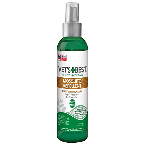 Vet's Best Mosquito Repellent Spray for Pets $3.39 (62% Off)