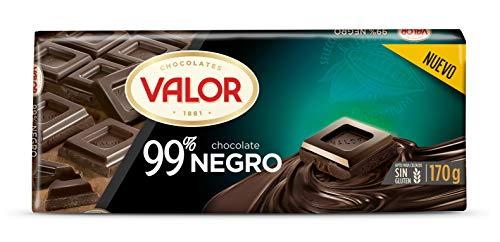 Chocolates Valor, Chocolate Negro 99{c4138ef913d0b1b4051a5a82b026b3af56ba240154725126181bf1d7c4999890}, 170 Gramos