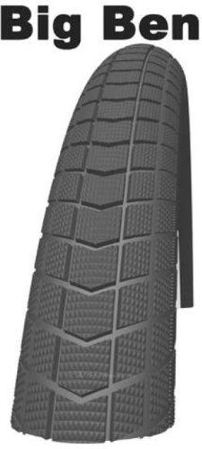 Product Image 1: SCHWALBE Big Ben 27.5×2.00 Wire Endurance Clincher Race Guard 67TPI 35-70PSI Black Bike Tire