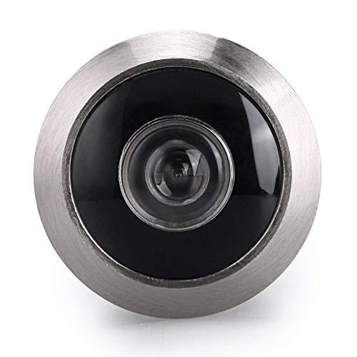 Othmro Sicherheits-Türspion, 55-90 mm, goldfarben, 200 ° langlebig, für Zuhause, Büro, Hotel 3pcs 55-90mm Silver