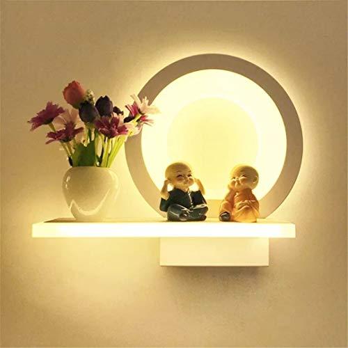 15 estilos Lámpara de pared acrílica con flor de jarrón Dormitorio romántico Lámpara de noche Corredor de sala de estar white light 15W 6