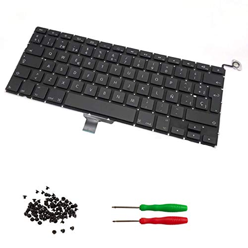 THE TECH DOCTOR Replacement Internal Keyboard Spanish Layout SP for Apple MacBook Pro A1278 13' Unibody 2009 2010 2011 2012