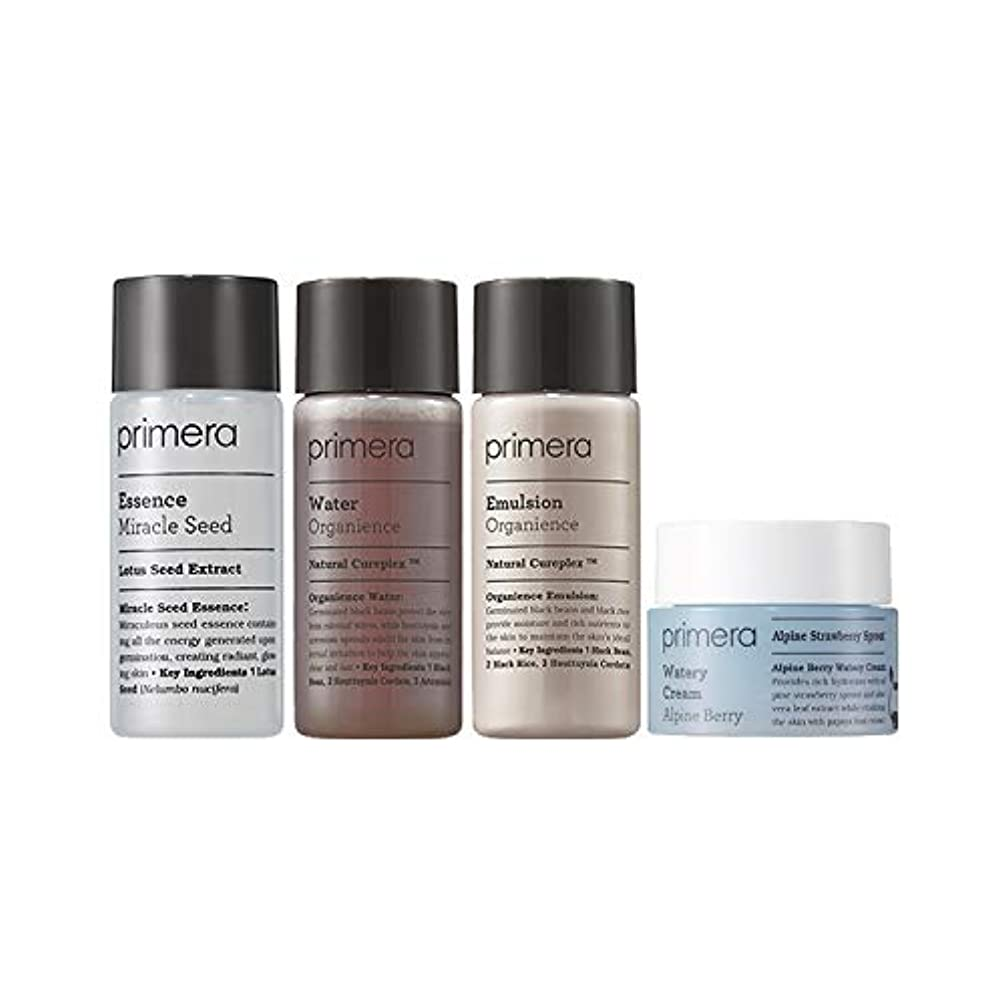 バーター苦痛バッチ[ギフト付き] プリメラ バイタリティ スキンケア ベーシック セット (スキンウォーター+エマルジョン+エッセンス+クリーム) / Primera Vitality Skin Care Basic Kit (Water+Emulsion+Essence+Cream)