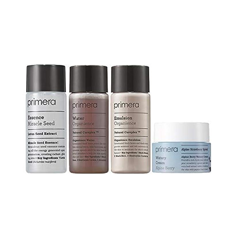 豪華ないわゆる階段[ギフト付き] プリメラ バイタリティ スキンケア ベーシック セット (スキンウォーター+エマルジョン+エッセンス+クリーム) / Primera Vitality Skin Care Basic Kit (Water+Emulsion+Essence+Cream)