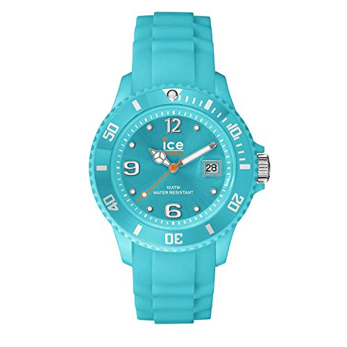 Ice-Watch - ICE forever Turquoise - Blaue Damenuhr mit Silikonarmband - 000965 (Small)