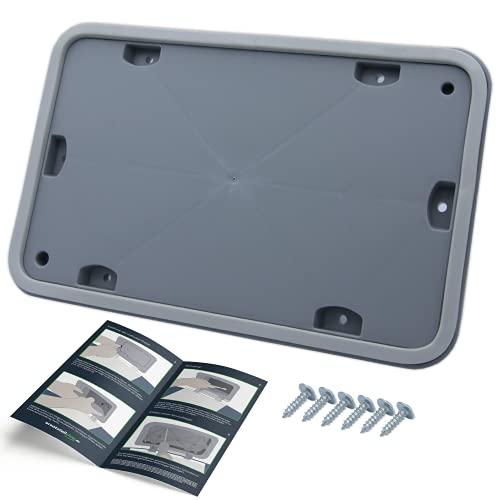 Wartungsklappe Serviceklappe Wärmetauscher passend für Bosch Siemens Wärmepumpentrockner – passend wie Originalnummer 646776 00646776 – von ersatzteilshop basics