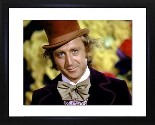 Foto Favorieten Gene Wilder (Willy Wonka en de Chocolade Fabriek) Omlijst foto