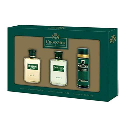 Estuche Clasic Crossmen 100ml + Desodorante+ 150ml + Afer Shave 100 ml