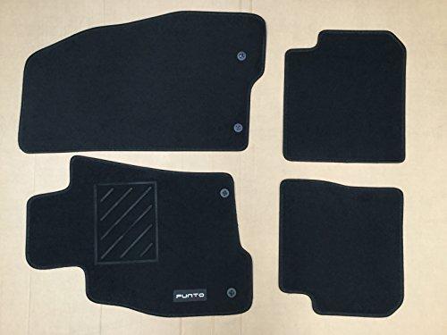 Fußmatten vorne + hinten original Fußmatten 2+ 2Pin by Italy Motors