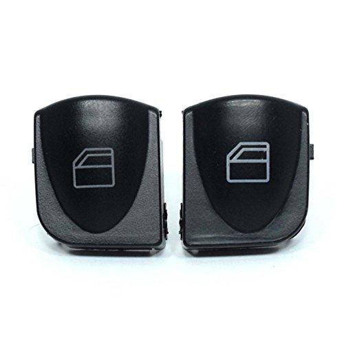 2x Vorne Links Rechts Fensterheber Schalter Knopf Taste Tasten Taster Fensterheberschalter
