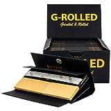 G-ROLLED | Kit para llevar | 15 paquetes de 32 papeles de larga duración y tips además cada kit dispone de una superficie de corte integrada y una bandeja de mezcla perfecta para viajes.