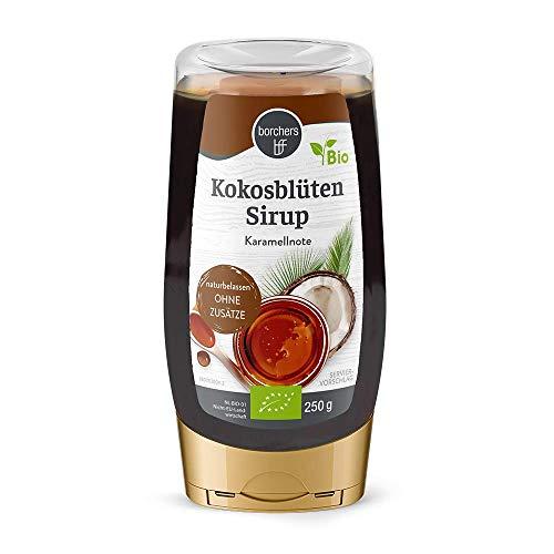 borchers Bio Kokosblütensirup, Naturbelassen, Bio-Qualität, zum Süßen und Verfeinern 250 g