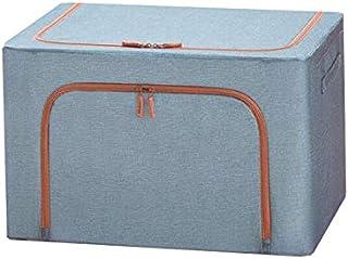 Lpiotyucwh Paniers et Boîtes De Rangement, Sacs de rangement pour vêtements de rangement pliables, 1Pack, couleur (bleu, m...