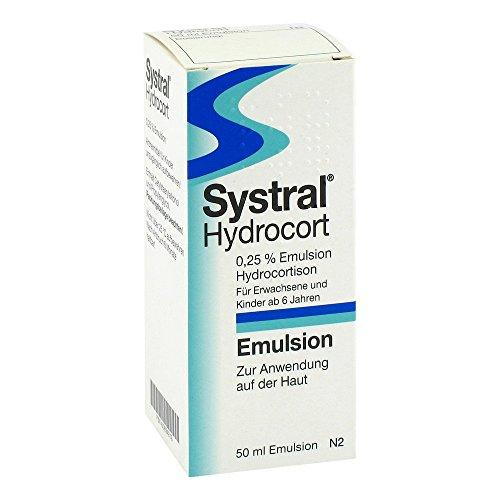 Systral Hydrocort 0,25% Emulsion, 50 ml Emulsion