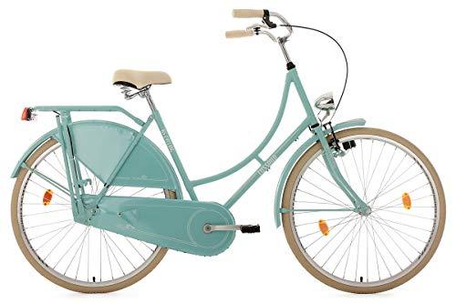 KS Cycling Hollandrad 28'' Tussaud Mint singlespeed RH 54 cm