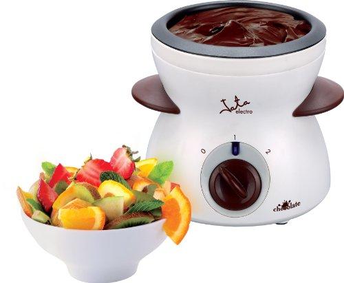Fonduta FC112 Jata. Pratica fonduta elettrica di cioccolato. 4Forchette in acciaio incluse. Ideale per scaldare salse da inzuppo. Di facile pulizia.