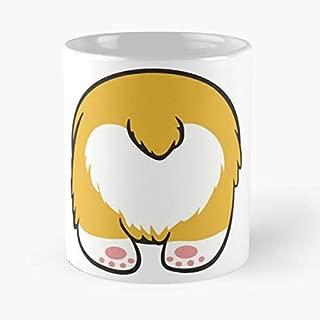 Corgi Butt Pants Funny Meme Cute - Funny Mug Coffee Gift For Christmas Father's Day