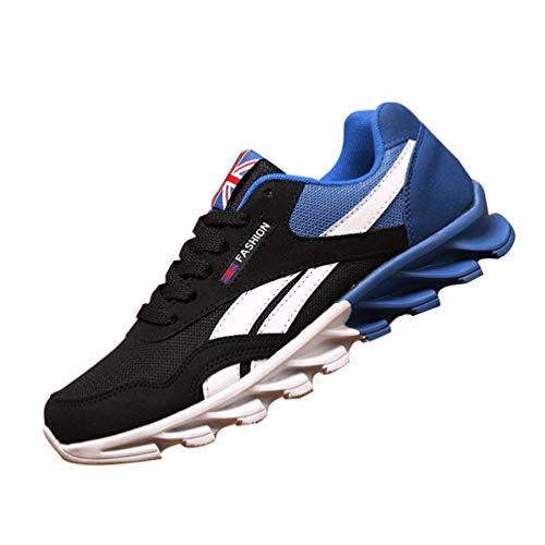 Zapatos Casuales de los Hombres Cuatro Estaciones de Moda cómodas Zapatillas para Adultos Resistentes al Desgaste