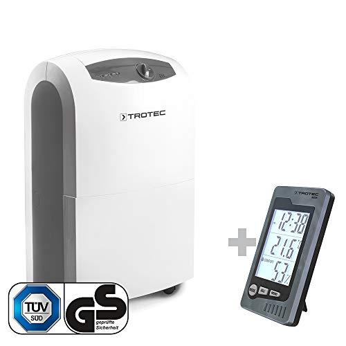 TROTEC Luftentfeuchter TTK 100 S + Raum-Thermohygrometer BZ 05