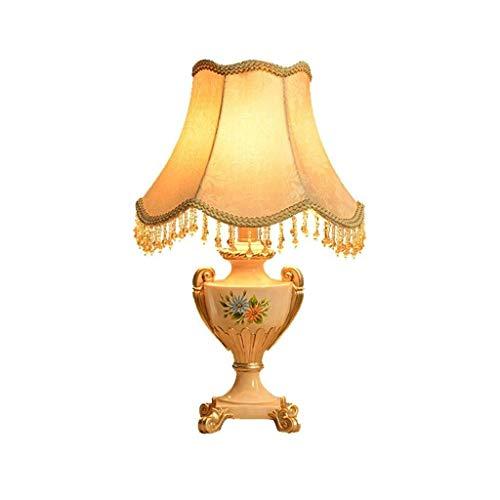 PYROJEWEL Moderno Lámparas de Mesa, Personalidad Simple Europeo de Pastoral de la Sala Dormitorio de Noche Las Luces de iluminación Creativa llevada Decorativa de Resina de Lectura luz de la Noche