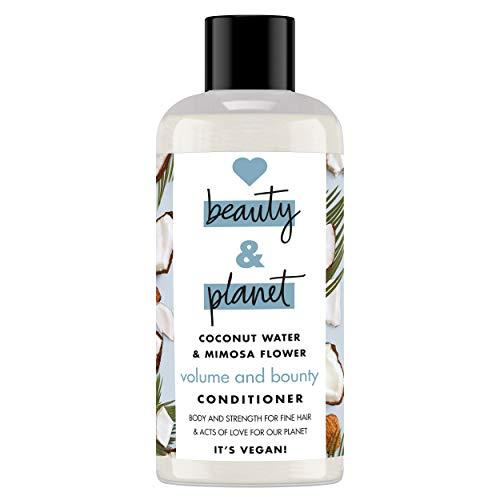 Love Beauty and Planet Volume & Bounty Acondicionador agua de coco & flor de mimosa 100ml