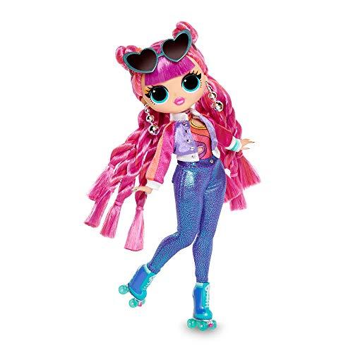 Giochi Preziosi - Series 3: Roller Chic Mode Puppe mit 20 Überraschungen, Mehrfarbig (LUE0110)