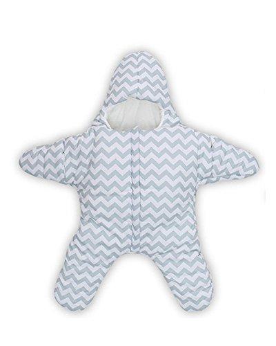 Star Sac pour sac de couchage bébé Nid pour 0-2 ans (0-5M, bleu)
