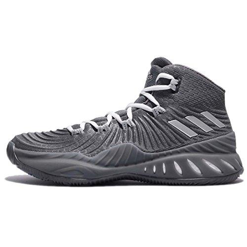 adidas Mens BY3767_46 Basketball Shoes, Mehrfarbig Gricua Plamet Gridos, EU