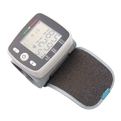HLKJ Blutdruckmessgeräte, Monitor Tragbare USB Aufladbare Arm-Blutdruck Mit 2 Benutzern Genauen Digitalen BP Metern Mit LED-Anzeige Für Erwachsene Und Kinder