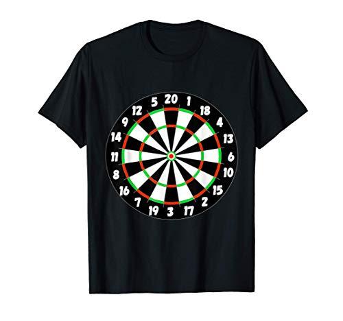 Dartscheibe Dart Spieler Dartautomat Brett Spiel Dartspieler T-Shirt