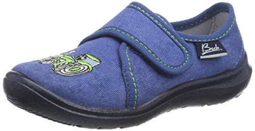 Beck Traktor, Zapatillas de Estar por casa Niños, Azul (Blau 34), 26 EU